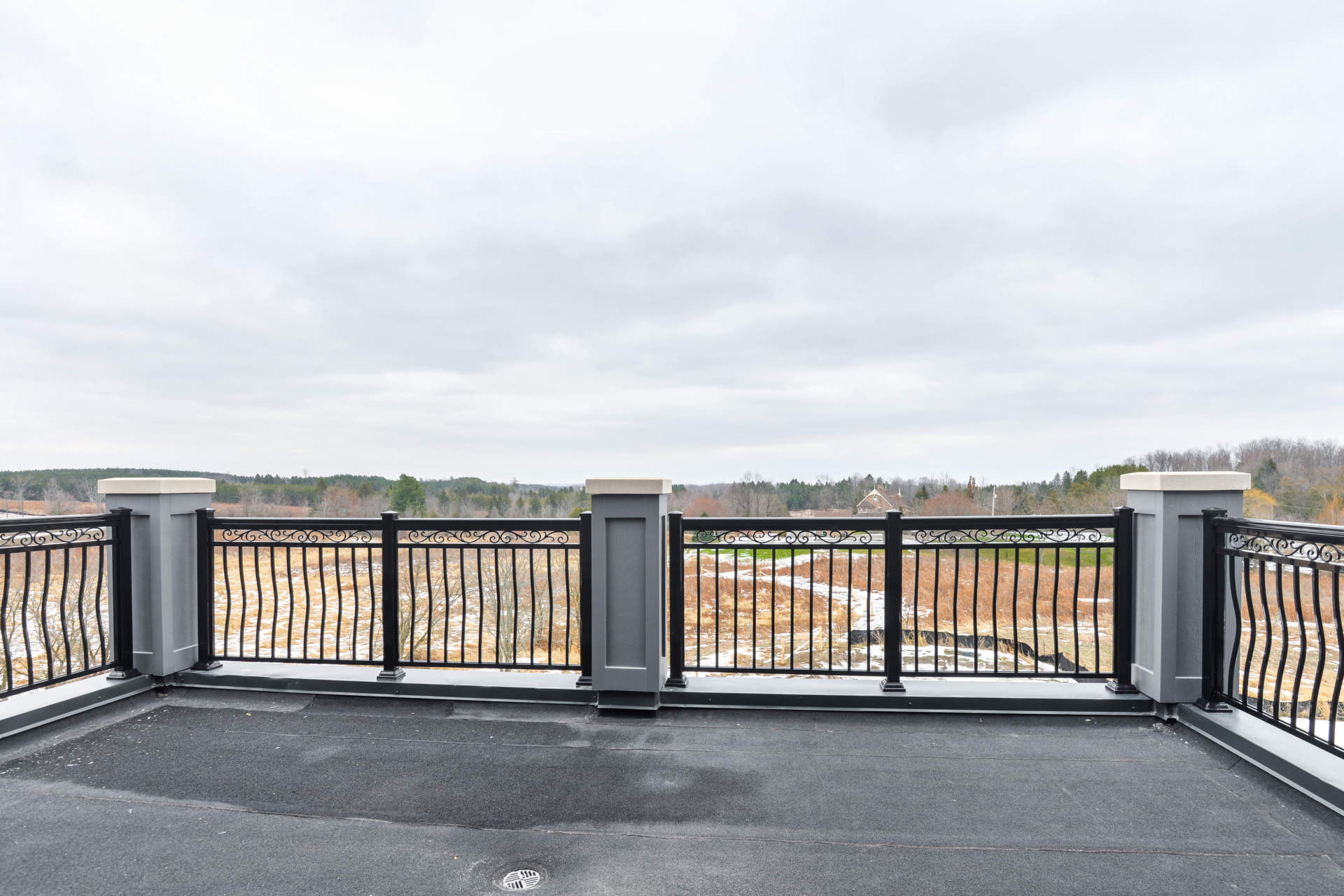 Hall's Lake Estates Luxury Model Home Balcony
