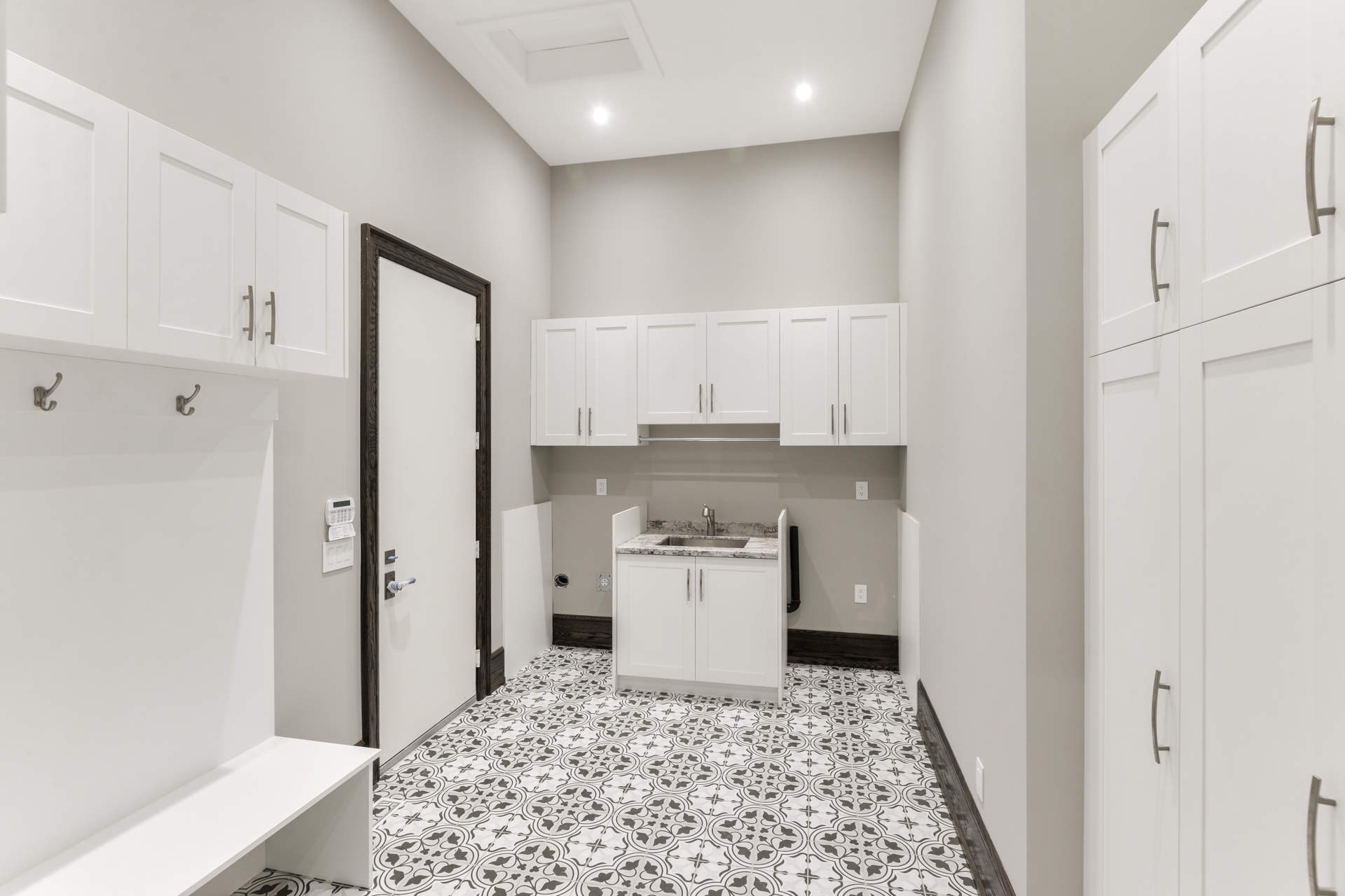 Hall's Lake Estates Model Home Interior - Laundry Room